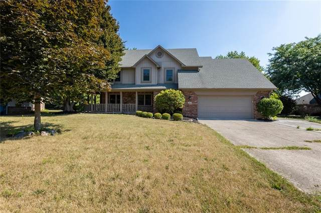 351 Nottinghill Court, Indianapolis, IN 46234 (MLS #21803741) :: Mike Price Realty Team - RE/MAX Centerstone