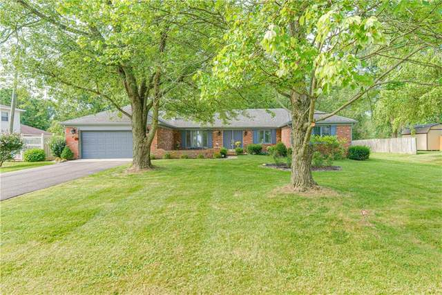 1357 Estates Drive, Greenwood, IN 46142 (MLS #21803794) :: Mike Price Realty Team - RE/MAX Centerstone