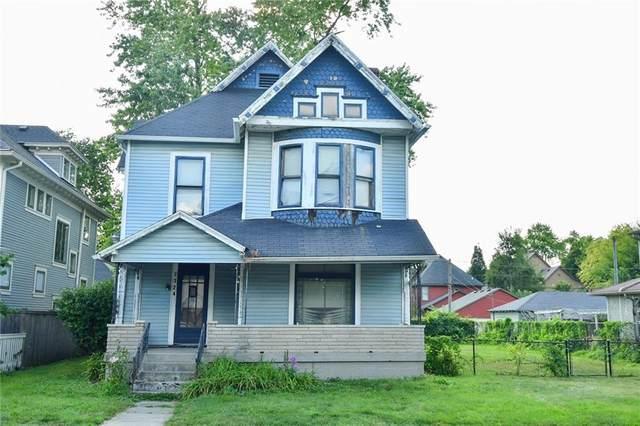 2324 N Delaware Street, Indianapolis, IN 46205 (MLS #21803847) :: Heard Real Estate Team | eXp Realty, LLC
