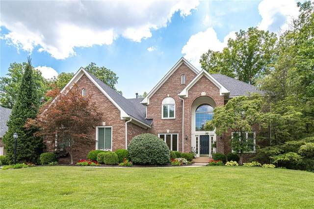 11843 Old Stone Drive, Indianapolis, IN 46236 (MLS #21803872) :: The Evelo Team