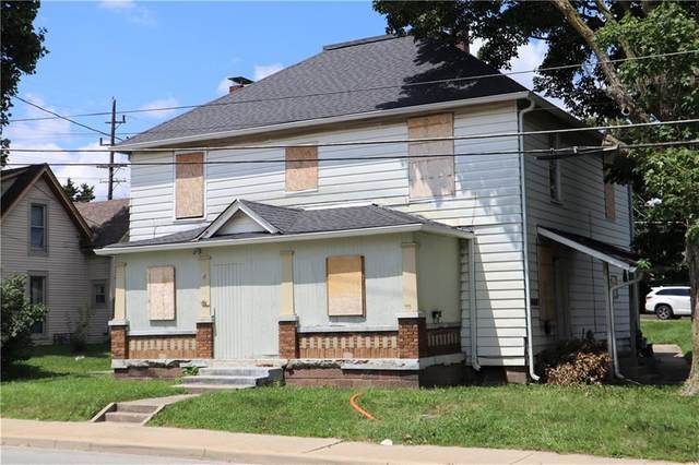 28-30 E Main Street, Greenwood, IN 46143 (MLS #21803907) :: The Evelo Team