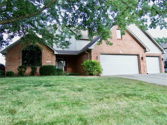 2511 Willow Lakes East Boulevard, Greenwood, IN 46143 (MLS #21803934) :: The Evelo Team