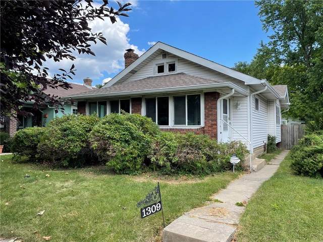 1309 N Gladstone Avenue, Indianapolis, IN 46201 (MLS #21803938) :: Anthony Robinson & AMR Real Estate Group LLC