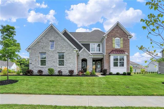 3665 Conifer Drive, Zionsville, IN 46077 (MLS #21803959) :: Quorum Realty Group
