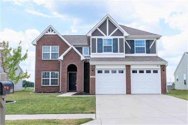 808 Star Flower Trace, Greenwood, IN 46143 (MLS #21804002) :: The Evelo Team