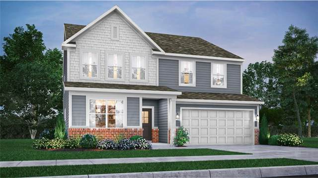 2518 Dixon Creek Drive, Whitestown, IN 46075 (MLS #21804048) :: The Indy Property Source