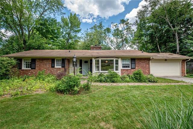 10444 Orchard Park Drive S, Indianapolis, IN 46280 (MLS #21804078) :: The Evelo Team