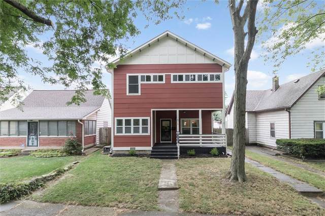 915 E Pleasant Run Parkway South Drive, Indianapolis, IN 46203 (MLS #21804108) :: Ferris Property Group