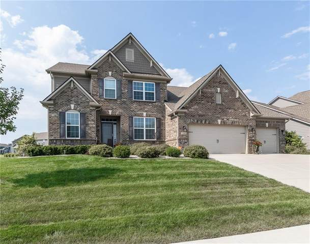 2448 Stonehaven Drive, Avon, IN 46123 (MLS #21804154) :: The Indy Property Source