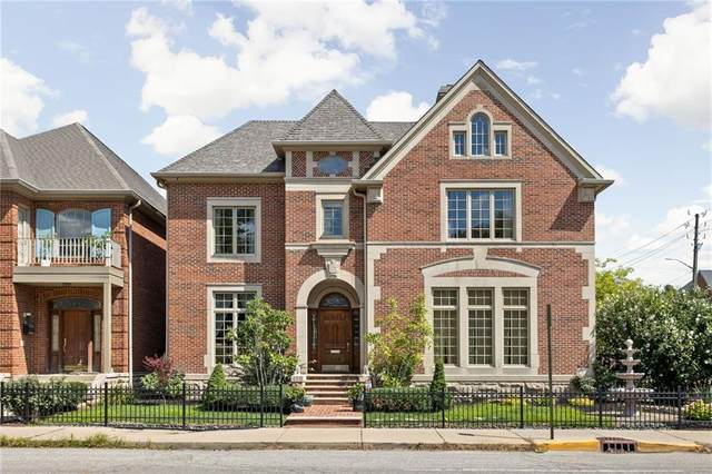 450 E Vermont Street, Indianapolis, IN 46202 (MLS #21804163) :: The Indy Property Source