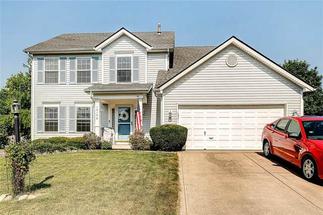 10198 Red Tail Drive, Fishers, IN 46037 (MLS #21804231) :: The Evelo Team