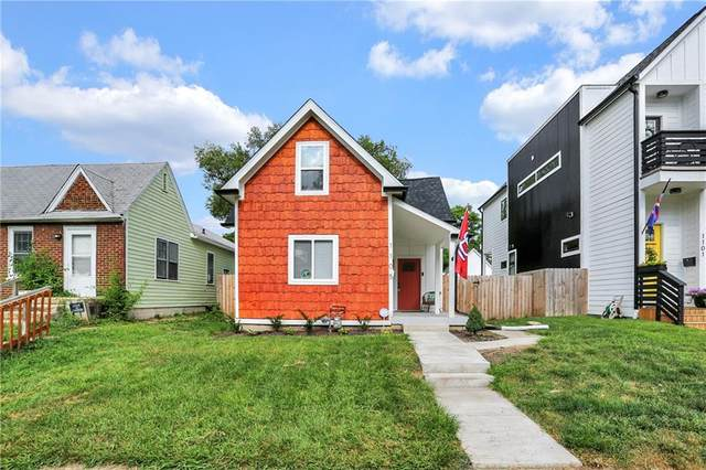 1105 N Hamilton Avenue, Indianapolis, IN 46201 (MLS #21804239) :: The Indy Property Source
