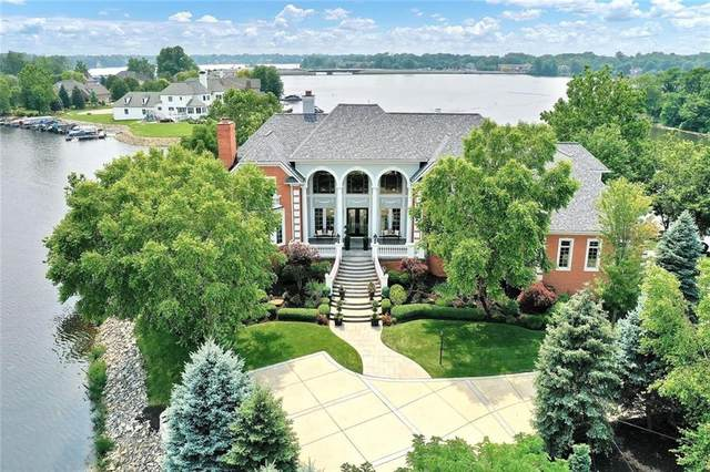 10091 Chesapeake Drive, Fishers, IN 46055 (MLS #21804281) :: The Indy Property Source