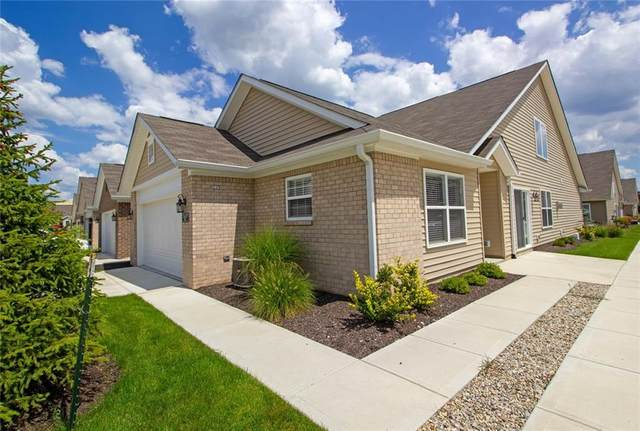11437 Mossy Court #100, Fishers, IN 46037 (MLS #21804370) :: Mike Price Realty Team - RE/MAX Centerstone