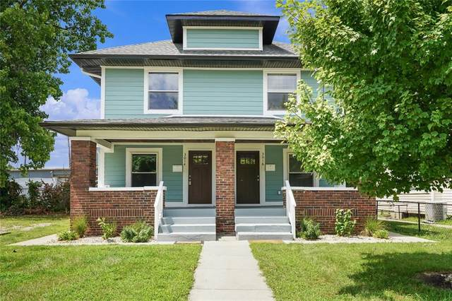 3014 Guilford Avenue, Indianapolis, IN 46205 (MLS #21804431) :: The Indy Property Source