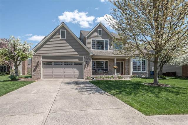 10969 Loyola Court, Fishers, IN 46038 (MLS #21804594) :: The Evelo Team