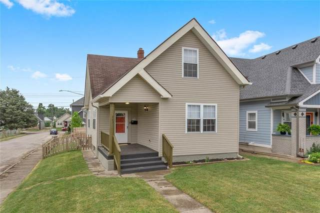 743 Cottage Avenue, Indianapolis, IN 46203 (MLS #21804717) :: The Evelo Team