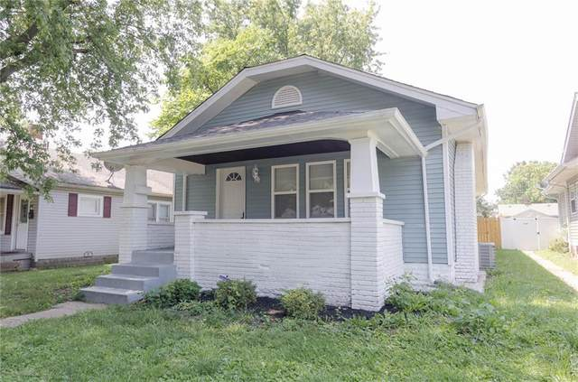 738 N Denny Street, Indianapolis, IN 46201 (MLS #21804891) :: The Indy Property Source