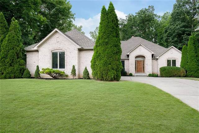 6012 Timberbend Drive, Avon, IN 46123 (MLS #21804894) :: Mike Price Realty Team - RE/MAX Centerstone