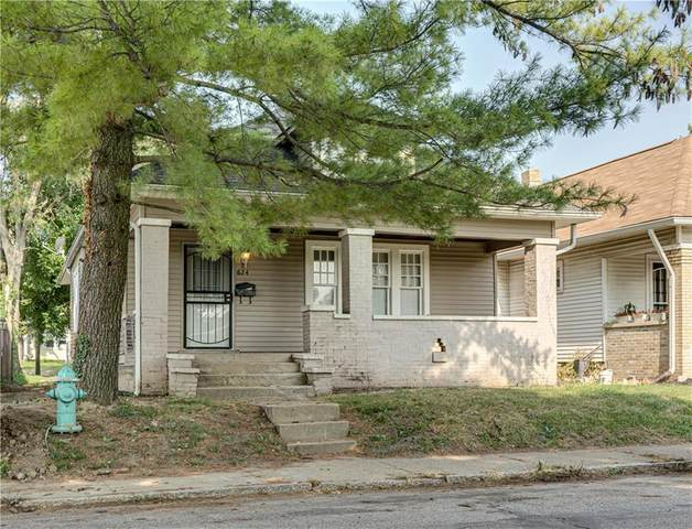 624 N Lasalle Street, Indianapolis, IN 46201 (MLS #21804920) :: The Indy Property Source