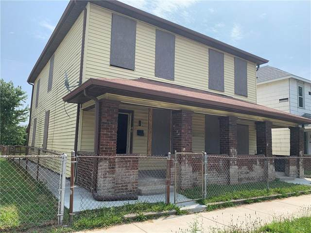 1417-1419 S Reisner Street, Indianapolis, IN 46221 (MLS #21805003) :: Pennington Realty Team