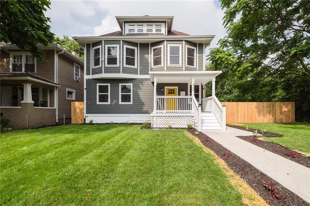 3134 N Park Avenue, Indianapolis, IN 46205 (MLS #21805054) :: The Evelo Team