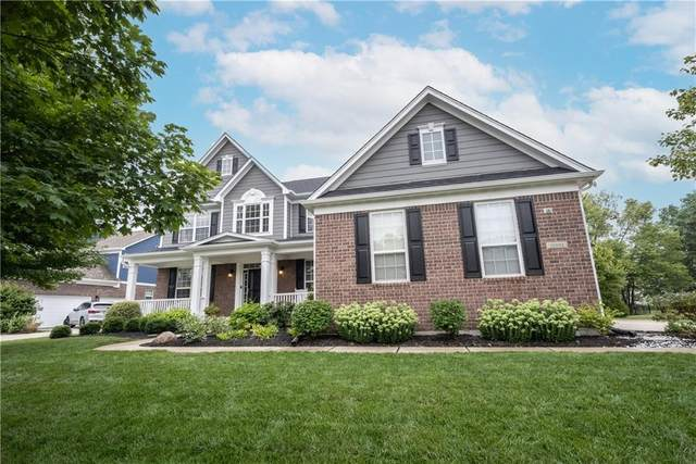 10008 Fantina Lane, Fishers, IN 46040 (MLS #21805184) :: Mike Price Realty Team - RE/MAX Centerstone