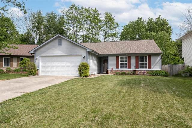 8550 Kousa Drive, Indianapolis, IN 46234 (MLS #21805193) :: Mike Price Realty Team - RE/MAX Centerstone