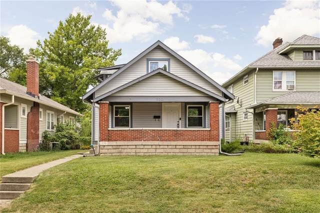 930 N Riley Avenue, Indianapolis, IN 46201 (MLS #21805322) :: The Evelo Team
