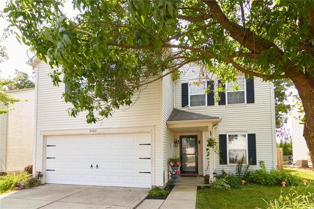 3402 Carica Drive, Indianapolis, IN 46203 (MLS #21805367) :: The Indy Property Source