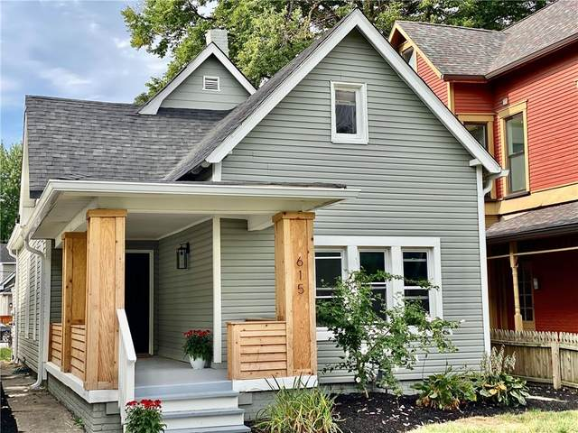 615 Prospect Street, Indianapolis, IN 46203 (MLS #21805397) :: The Evelo Team