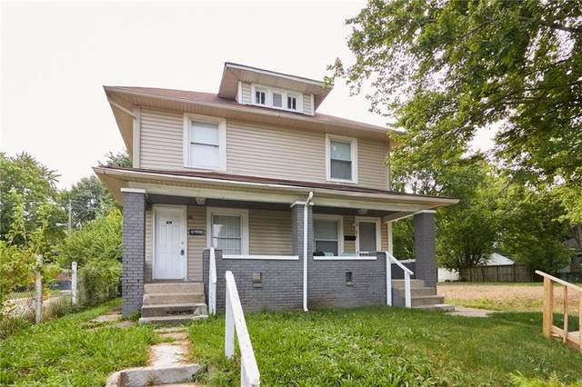 819 N Dearborn, Indianapolis, IN 46201 (MLS #21805435) :: Mike Price Realty Team - RE/MAX Centerstone