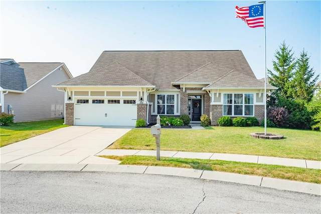 6303 Falcon Lane, Zionsville, IN 46077 (MLS #21805441) :: The Indy Property Source