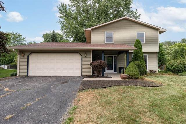 4014 Hollow Creek Drive, Indianapolis, IN 46268 (MLS #21805505) :: The Indy Property Source