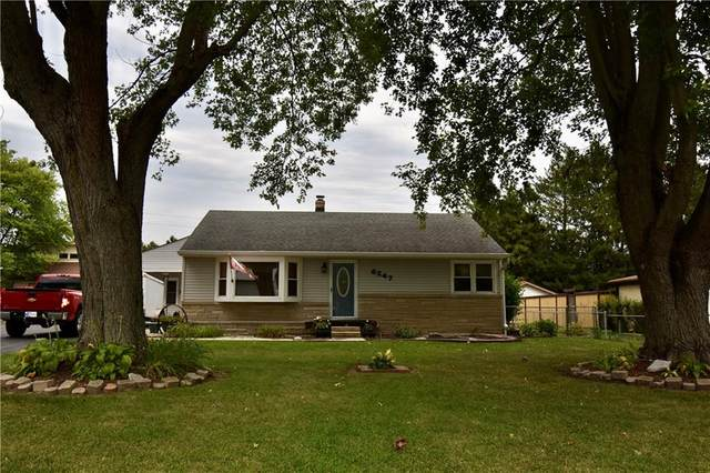 6247 Eastgate Avenue, Indianapolis, IN 46236 (MLS #21805665) :: The Evelo Team