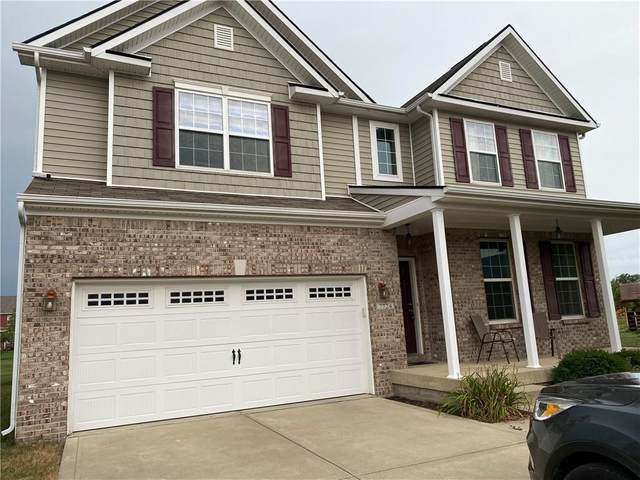 7724 Chestnut Eagle Court, Zionsville, IN 46077 (MLS #21805725) :: The Indy Property Source
