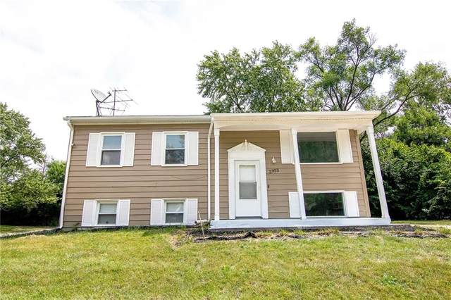 3955 Delmont Drive, Indianapolis, IN 46235 (MLS #21805864) :: JM Realty Associates, Inc.