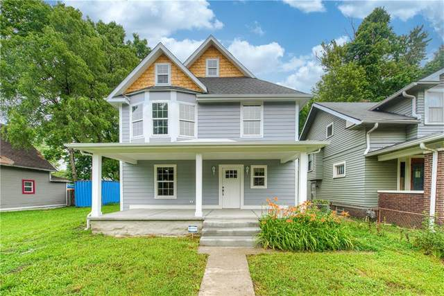 954 W 33rd Street, Indianapolis, IN 46208 (MLS #21805913) :: Mike Price Realty Team - RE/MAX Centerstone