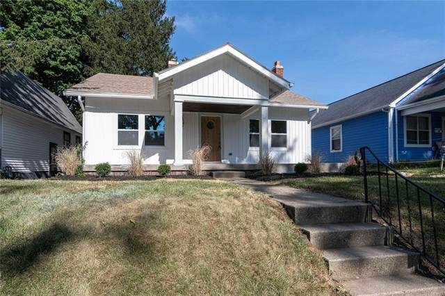 3963 Winthrop Avenue, Indianapolis, IN 46205 (MLS #21805919) :: The Evelo Team