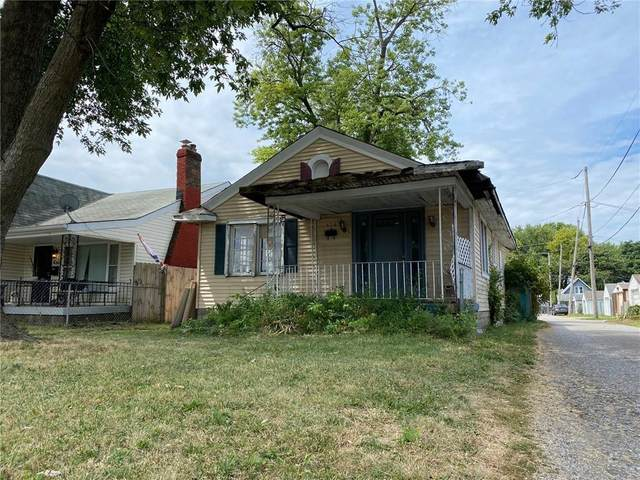 426 Saint Paul Street, Indianapolis, IN 46201 (MLS #21806185) :: The Evelo Team