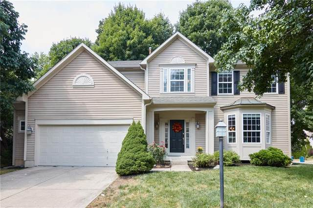 13284 Colliers Court, Carmel, IN 46033 (MLS #21806260) :: The Indy Property Source