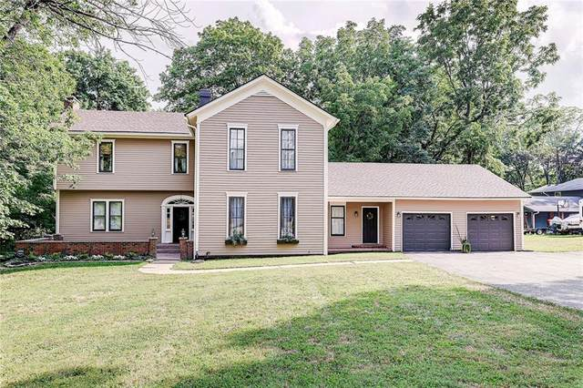 411 Countrywood Drive, Noblesville, IN 46060 (MLS #21806431) :: The Evelo Team