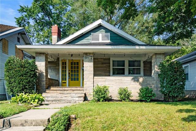 718 N Denny Street, Indianapolis, IN 46201 (MLS #21806512) :: The Indy Property Source