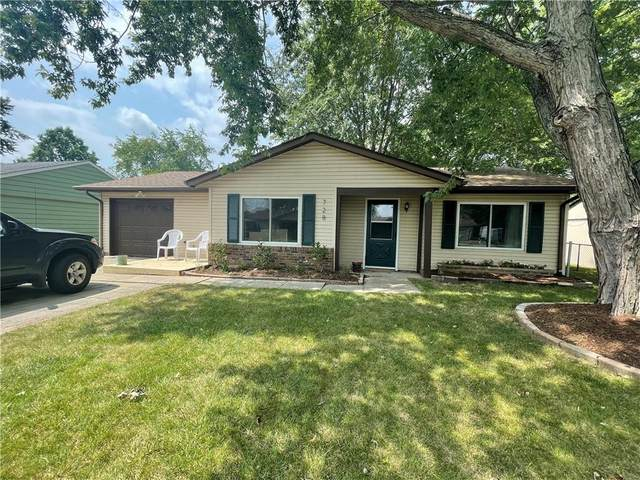728 Holiday Drive, Fortville, IN 46040 (MLS #21806529) :: Richwine Elite Group