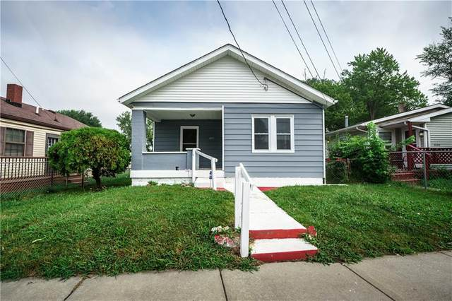 3214 Newton Avenue, Indianapolis, IN 46201 (MLS #21806544) :: JM Realty Associates, Inc.