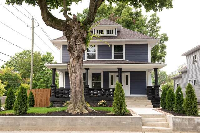 2302 N Lasalle Street, Indianapolis, IN 46218 (MLS #21806607) :: The Evelo Team