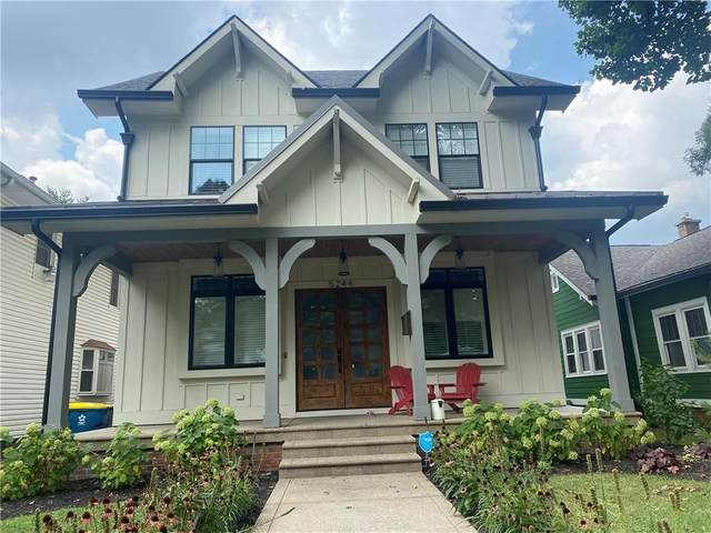 5244 N Park Avenue, Indianapolis, IN 46220 (MLS #21806714) :: Mike Price Realty Team - RE/MAX Centerstone