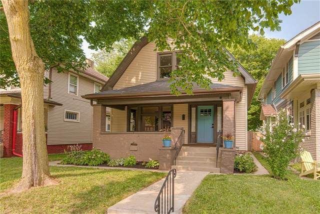 4226 Carrollton Avenue, Indianapolis, IN 46205 (MLS #21806721) :: The Indy Property Source