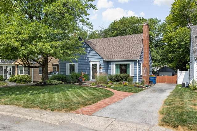 2518 Dell Zell Drive, Indianapolis, IN 46220 (MLS #21806749) :: Pennington Realty Team