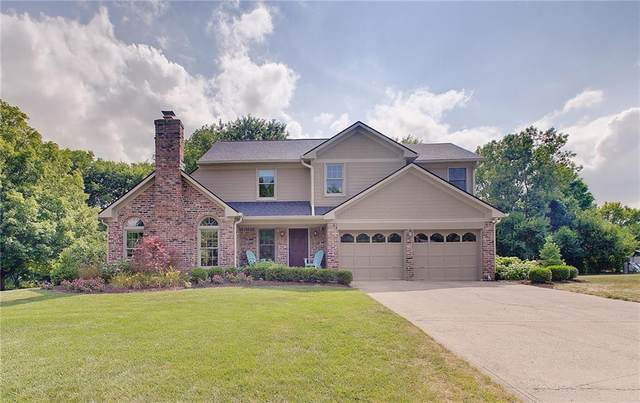 727 Winter Way, Carmel, IN 46032 (MLS #21806801) :: Mike Price Realty Team - RE/MAX Centerstone